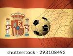 span  ball soccer  vintage color | Shutterstock . vector #293108492