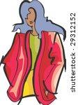 fashion model | Shutterstock .eps vector #29312152