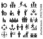 business people in work. office ... | Shutterstock .eps vector #293172488