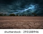 land to the ground dry and... | Shutterstock . vector #293188946
