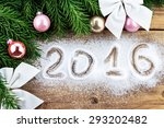 top view of christmas  new year ... | Shutterstock . vector #293202482