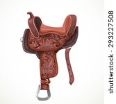 Saddle With Ornaments And...