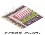 vector isometric icon or... | Shutterstock .eps vector #293230952