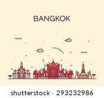 Bangkok Skyline  Detailed...