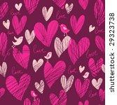 cute cartoon hearts   vector...   Shutterstock .eps vector #29323738