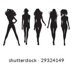 a lot of vector black... | Shutterstock .eps vector #29324149