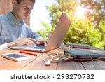 working man inspired by nature. ... | Shutterstock . vector #293270732