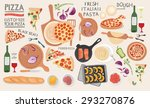 kitchen preparations  food... | Shutterstock . vector #293270876