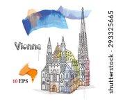 vienna. | Shutterstock .eps vector #293325665