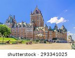 Chateau Frontenac In Old Quebec ...