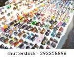 blurred group of eyeglasses | Shutterstock . vector #293358896