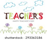 Teacher appreciation day free vector art 5063 free downloads vector illustration of a stylish shiny for happy teachers sciox Images