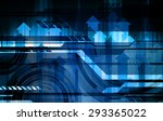 dark blue color light abstract... | Shutterstock .eps vector #293365022