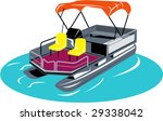 artwork,boat,chair,illustration,navigation,pontoon,recreation,sailing,sea,ship,transportation,vector,vessel,water