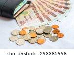 Close Up Of Thailand Money Bath ...