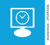 icon with image of round clock...