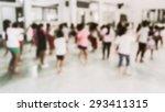 abstract of blurred children in ... | Shutterstock . vector #293411315