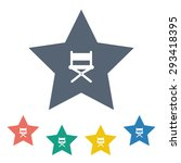 chair icon.    Shutterstock .eps vector #293418395