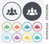 vector illustration of business ... | Shutterstock .eps vector #293421806