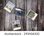 Old Film Camera And Polaroid...