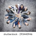 business people togetherness... | Shutterstock . vector #293440946