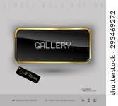 gold button gallery with black...