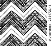 Seamless Ethnic Pattern Drawn...