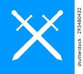 sword icon vector beautiful ...   Shutterstock .eps vector #293480432
