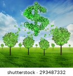 crowdfunding investing and... | Shutterstock . vector #293487332