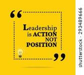 inspirational motivational... | Shutterstock .eps vector #293489666