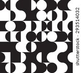 geometric circle pattern   Shutterstock .eps vector #293514032