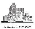 vector design   eps10 building... | Shutterstock .eps vector #293535005