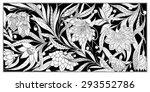 set of seamless pattern.... | Shutterstock .eps vector #293552786