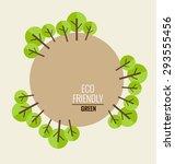 nature banner. ecology concept...   Shutterstock .eps vector #293555456