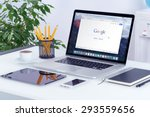 apple 15 inch macbook pro... | Shutterstock . vector #293559656