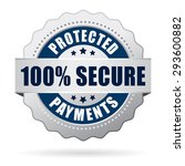 secure protected payments icon | Shutterstock .eps vector #293600882