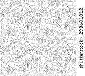 vector illustration happy... | Shutterstock .eps vector #293601812
