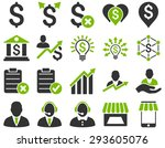 trade business and bank service ... | Shutterstock . vector #293605076