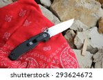 penknife for the hidden... | Shutterstock . vector #293624672