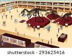 a vector illustration of scene... | Shutterstock .eps vector #293625416