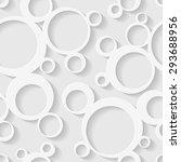 seamless circles background. | Shutterstock .eps vector #293688956