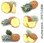 pineapple fruit | Shutterstock . vector #293711888