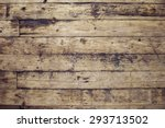 Old And Shabby Floor. Wooden...