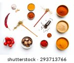 Food And Spices Herb For...