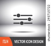 sliders vector icon