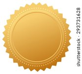 blank guarantee certificate | Shutterstock .eps vector #293731628