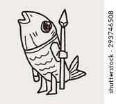 monster doodle   Shutterstock . vector #293746508