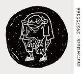 monster doodle | Shutterstock . vector #293755166