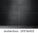 high definition black metal... | Shutterstock . vector #293766422
