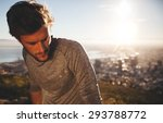 close up shot of young man... | Shutterstock . vector #293788772